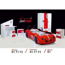 plastmob-araba karyola seti