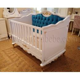 Avangard taht bebek Beşikleri lükens ayaklı