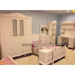 İngiliz Modeli genç odası mobilyası