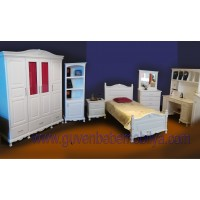 İngiliz Modeli country genç odası mobilyası