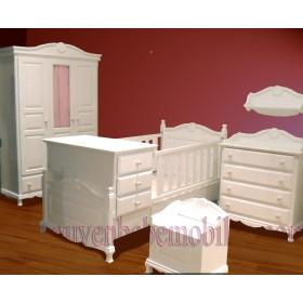İngiliz modeli bebek odası