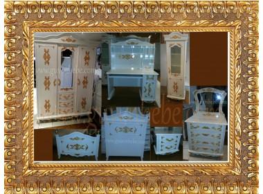 Altın Gümüş Varaklı Kraliçem  Genç odaları