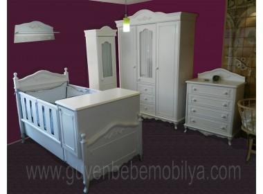 Avangarde bebek odası 4-parça