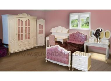 Marziya genç kız erkek çocuk odası