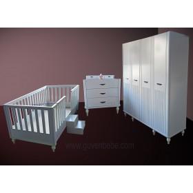 Damla Montessori bebek çocuk odası