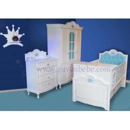 Panjurlu Mdf Bebek odası