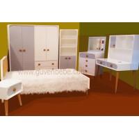 Radio 4-lü genç çocuk odası mobilyası