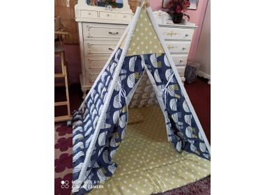 mohikan kamp (oyun) çadırı